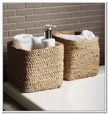 Bathroom Basket Storage by Small Bathroom Baskets Brightpulse Us
