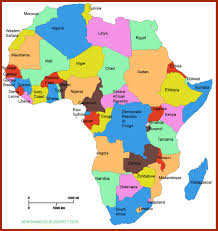 Map Of The World Showing Countries by News Habour Checkout The Alphabetical List Of All African