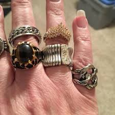 best finger rings images Best lot of six rings pinky finger size 6 ring finger one jpg