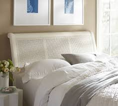 Pottery Barn Wicker Beautiful Pottery Barn Wicker Headboard 79 About Remodel Wood