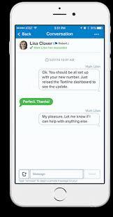 Conversational Text Messaging Solutions - textline we landed product design branding marketing san