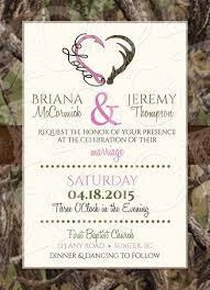 hooked on camo wedding invitation and rsvp card by mrsprint