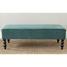 Amazon Com Safavieh Mercer Collection by Amazon Com Safavieh Mercer Collection Reagan Ottoman Marine