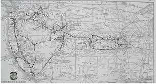 Seattle Rail Map by Union Pacific
