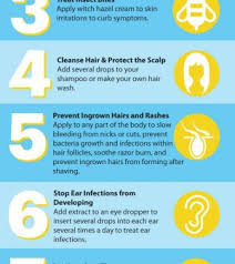 witch hazel for ingrown hair 10 uses for witch hazel infographic