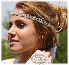 headbands that go across your forehead much weddingbee