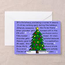 funny nurse christmas cards on cafepress com http www cafepress