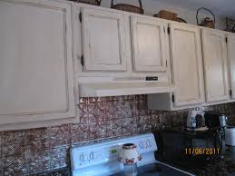 White Distressed Kitchen Cabinets Gorgeous Look Of Milk Paint Kitchen Cabinets