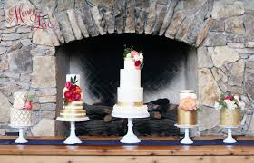 Wedding Cake Display Wedding Cakes U2014 Honeylove Cakery