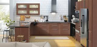 what color do ikea kitchen cabinets come in brown kitchen cabinets grimslöv series ikea