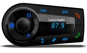 amazon com livio lvc02a bluetooth internet radio car kit for