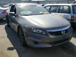 2012 honda accord ex salvage certificate 2012 honda accord coupe 2 4l 4 for sale in