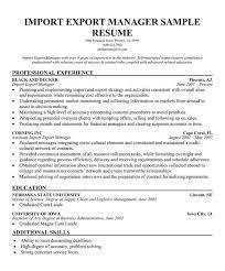 Logistics Management Specialist Resume Inspiring Import Specialist Resume 34 In Resume Examples With