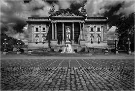architektur wiesbaden architektur in wiesbaden foto bild fotokunst monochrome