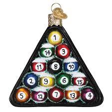 Sports Ornaments Christmas Billiard Balls Ornament Gifts For Pool Players Christmas