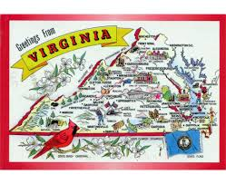 Map Of Williamsburg Va Maps Of Virginia State Collection Of Detailed Maps Of Virginia