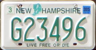 Maine Vanity License Plates New Hampshire 2 Y2k