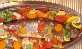 cuisine marocaine poisson au four recettes de poissons cuisine marocaine