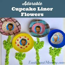 east coast mommy number crafts number four spring flowers craft