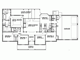 floor plans for ranch style home ranch style house plans bedroom with basements open one story