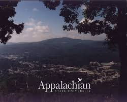 App State Campus Map by Appalachian State University Main Campus Asu Mountaineers