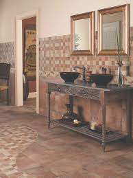 bathroom fresh gloss tiles on bathroom floor decoration idea