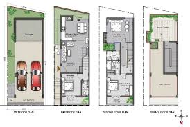 North Facing Floor Plans Overview Endee Villa At Chennai Endee Properties Chennai