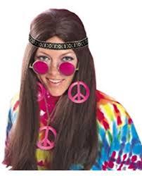 hippie headband groovy 60 s party hippie headband accessory fabric