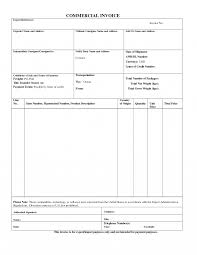 example commercial invoice dance teacher invoice template commercial export sample business