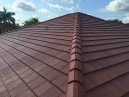 Flat Tile Roof Pictures by Roof Repairs U0026 New Roofs In Miami Large Tile Roof Replacement In