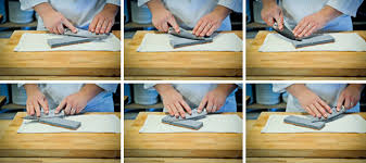 best sharpening stones for kitchen knives cks 026 how to sharpen a knife with a water stella culinary