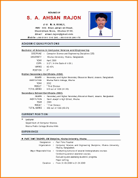 sle biography template for students 5 cv format for fresher teacher mail clerked