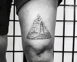 50 small ocean tattoos for men seafaring ink ideas