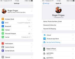 membuat icloud baru di pc how to manage your apple id icloud iphone backups more in ios 10 3