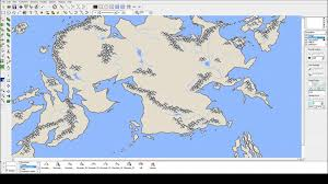 United States Map Mountains by Fantasy Map Part 4 Rivers And Mountains Youtube