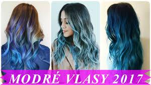 modré vlasy 2017 youtube