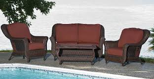 Patio Set With Reclining Chairs Design Ideas 53 Rattan Recliners Wicker Patio Furniture Homeblucom