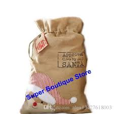 monogrammable items fast delivery wholesale blanks monogrammed burlap santa sack