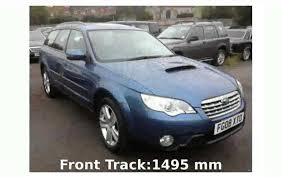 blue subaru outback 2007 2008 subaru outback 2 0d details and specification youtube