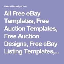 free ebay auction templates create professional ebay listing template ebay listing and
