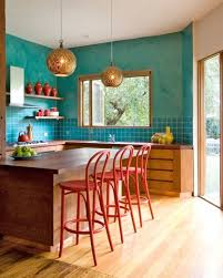 small kitchen decorating ideas colors 17 awesome bold décor ideas for small kitchens digsdigs