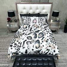 animal print king bedding sets damask leopard print comforter
