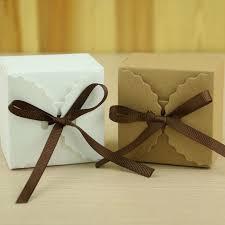 verpackung hochzeitsgeschenk 100 stück retro mini kraftpapier box diy hochzeitsgeschenk