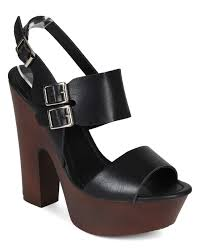 shoes breckelles cb81 women leatherette open toe double band