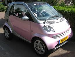 hello kitty pink introduce yourself club smart car