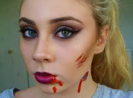 lily rose glamorous vampire halloween makeup look