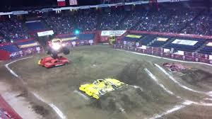 monster truck shows ontario beginning of monster jam in hamilton ontario youtube