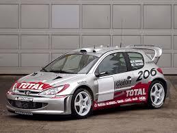 peugot 206 2001 peugeot 206 wrc peugeot supercars net