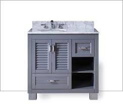 Vanity For Bathroom Sink Shop Bathroom Vanities U0026 Vanity Tops At Lowes Com