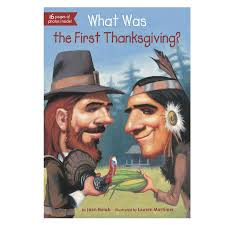 what is thanksgiving history what was the first thanksgiving book